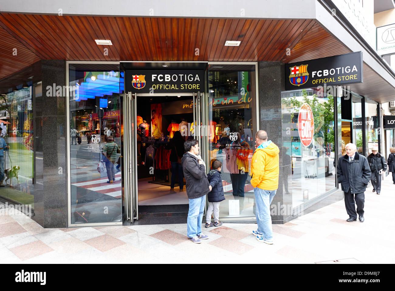 fcbotiga barcelona fc official store tax free shopping in andorra la vella  andorra 1ecfa6a4eee