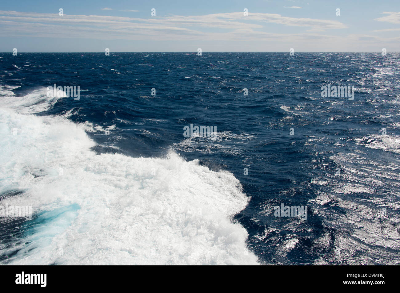 Waves / Mediterranean Sea |Wellen / the Mediterranean Sea - Stock Image