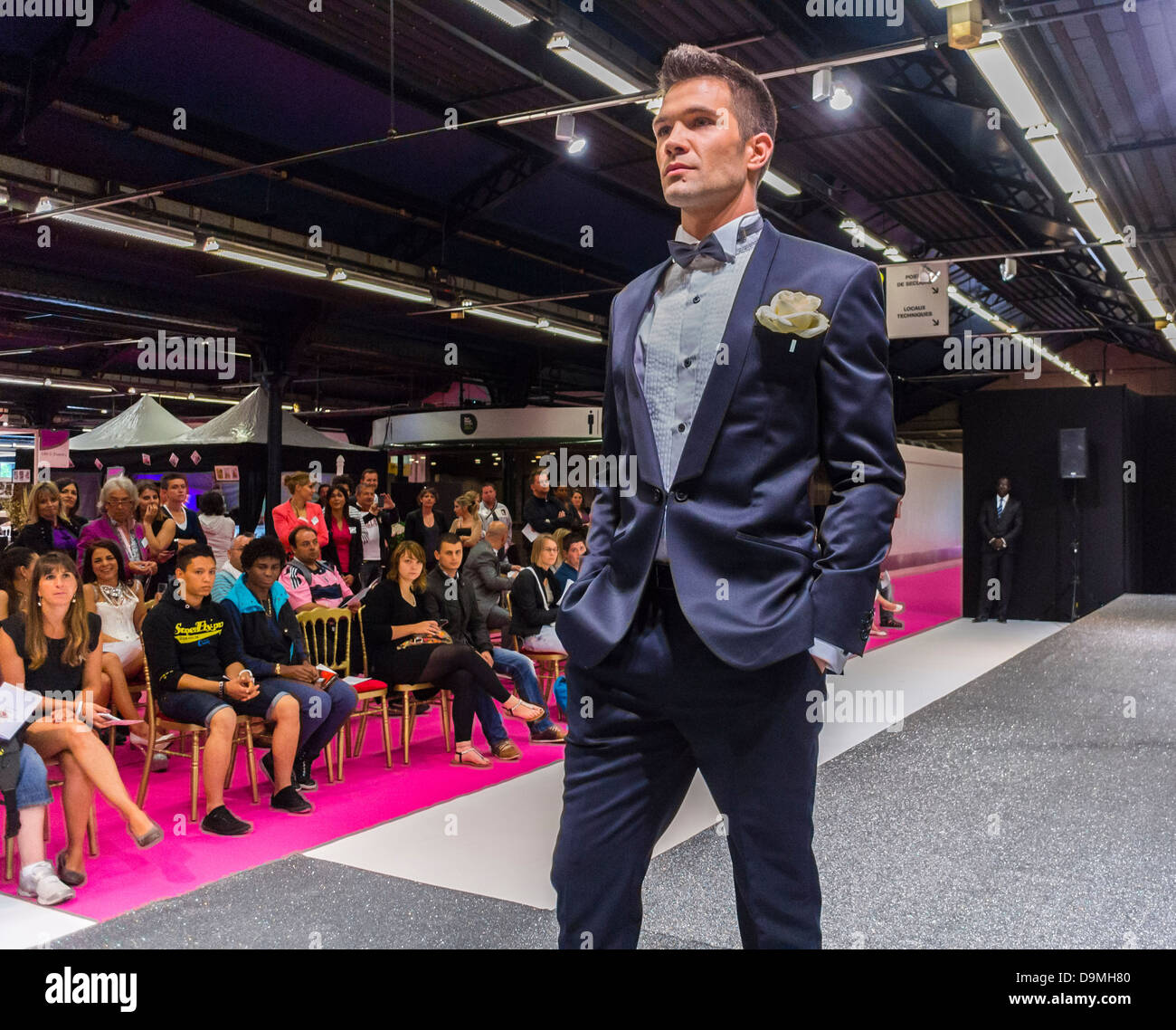 Paris France Wedding Fashion Show At First Gay Marriage Trade Show