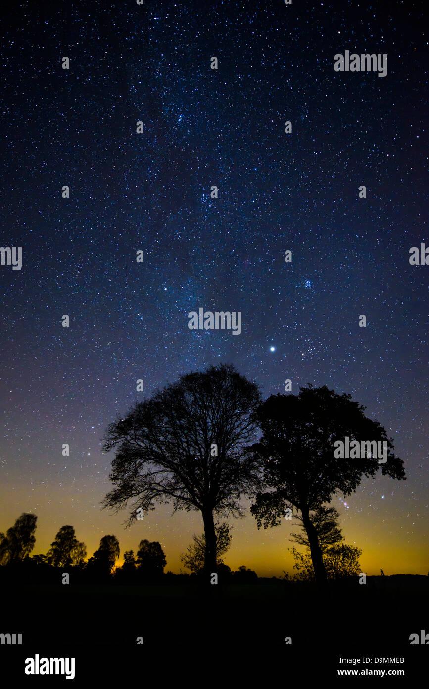Star sky - Stock Image