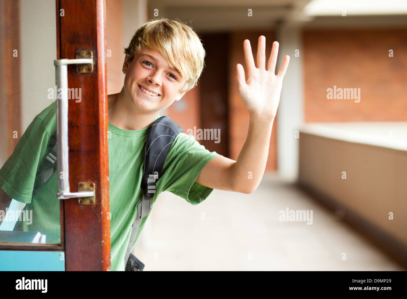 Waving Good ByeStock Photos and Images