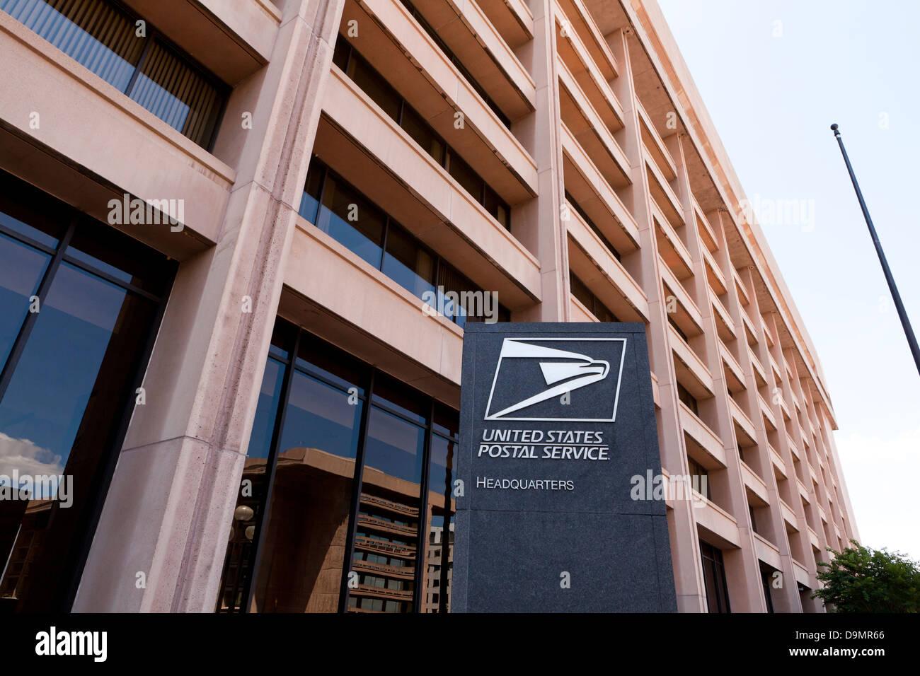 The US Postal Service headquarters building - Washington, DC USA - Stock Image