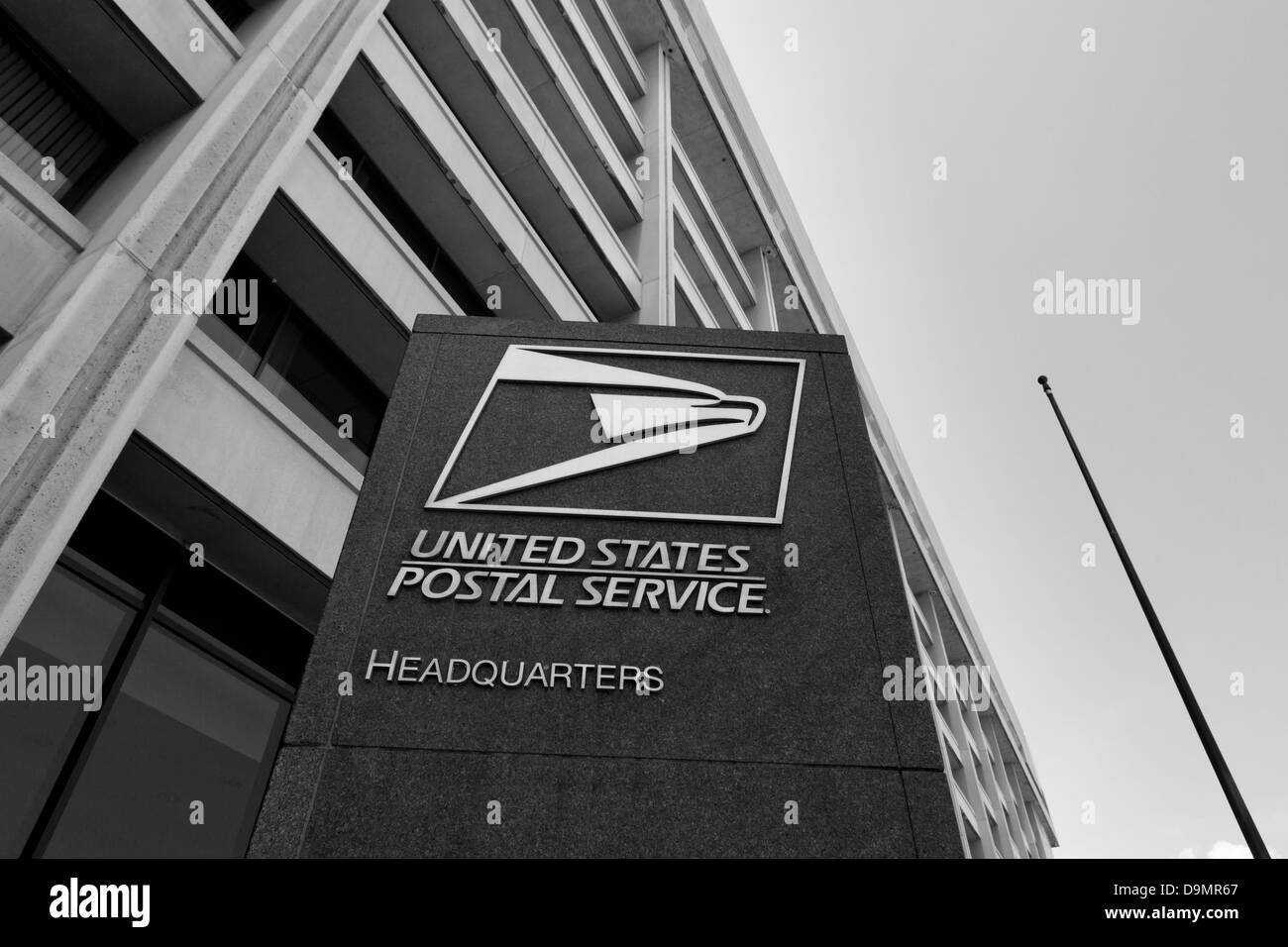 The US Postal Service headquarters building - Washington, DC USA - Stock Image