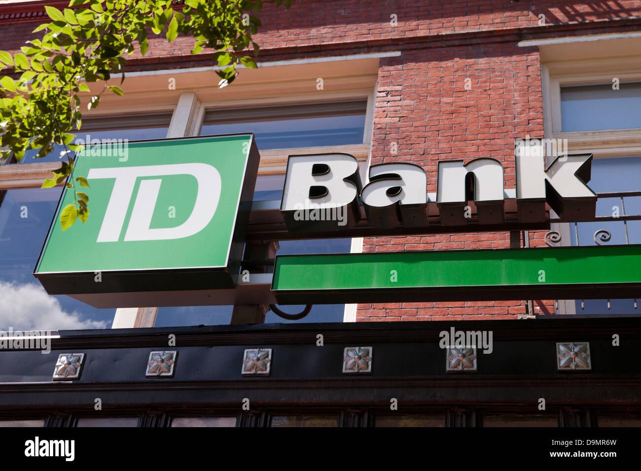 Td Bank Stock Photos Td Bank Stock Images Alamy