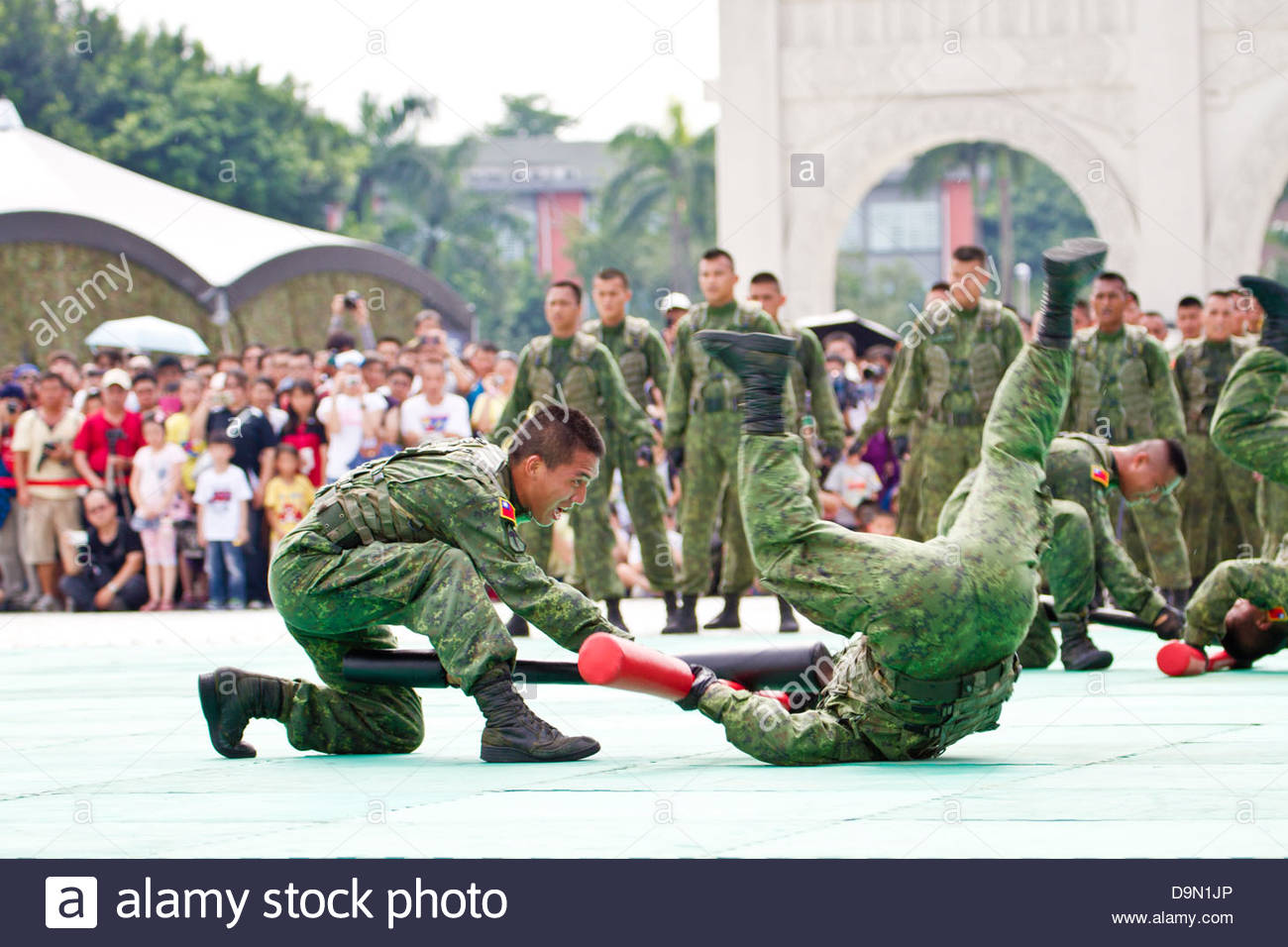 Taiwan Special Military Exhibition National Stock Photos