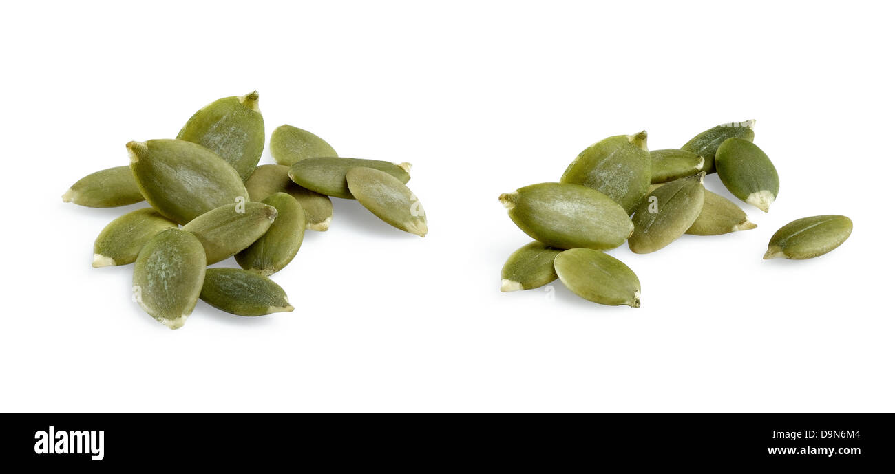 pumpkin seeds - Stock Image