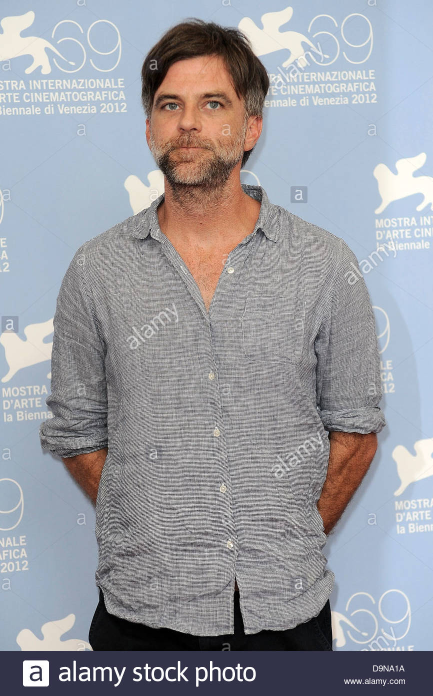 paul thomas anderson,69th international venice film festival - Stock Image