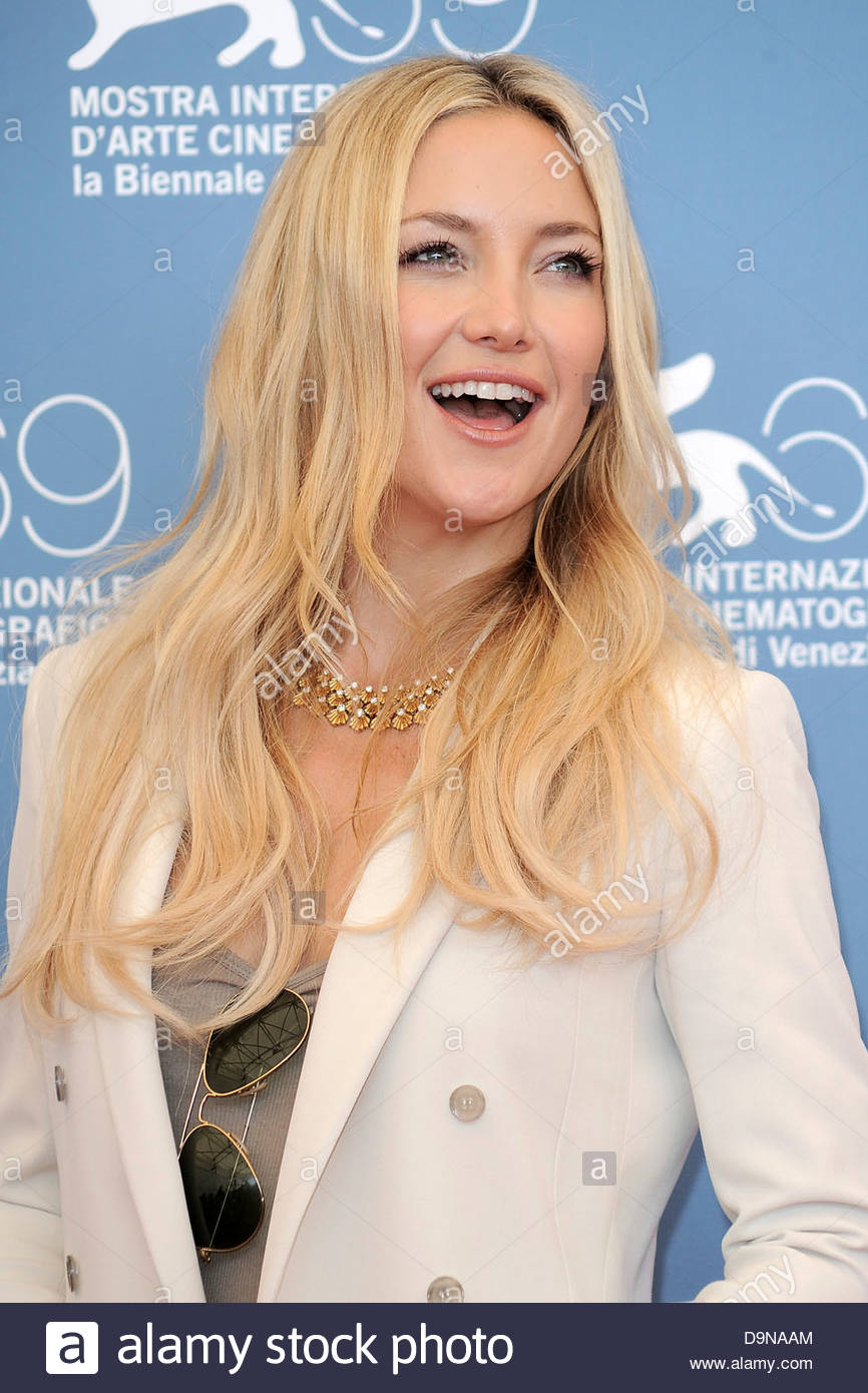 kate hudson,69th international venice film festival - Stock Image
