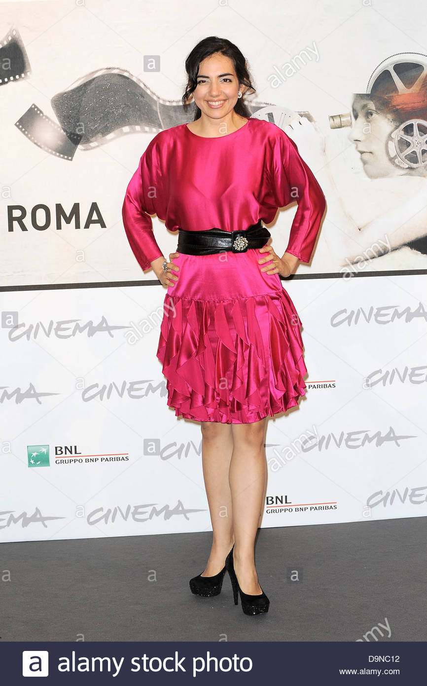 tina rodriguez,international film festival of rome - Stock Image