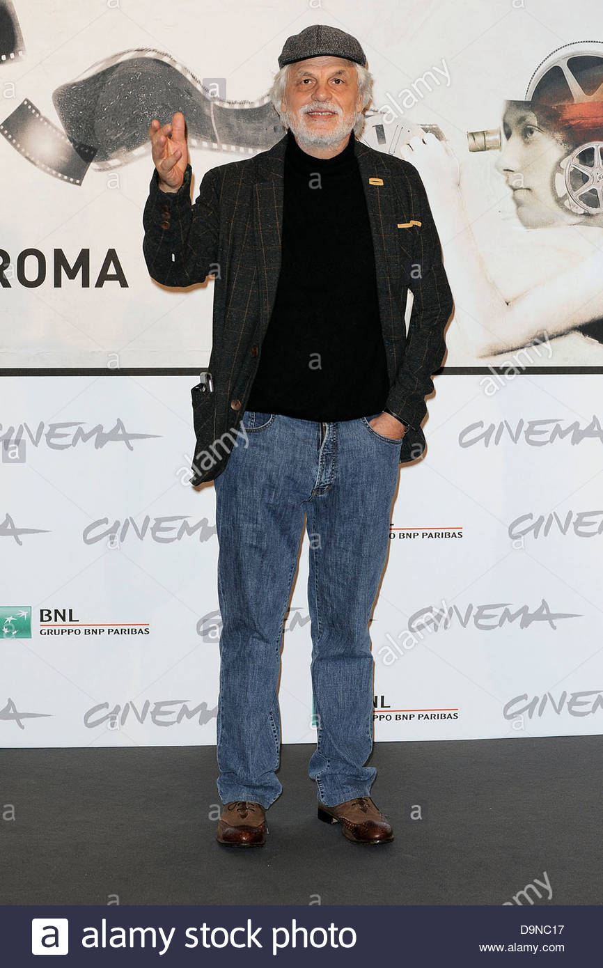 michele placido,international film festival of rome - Stock Image