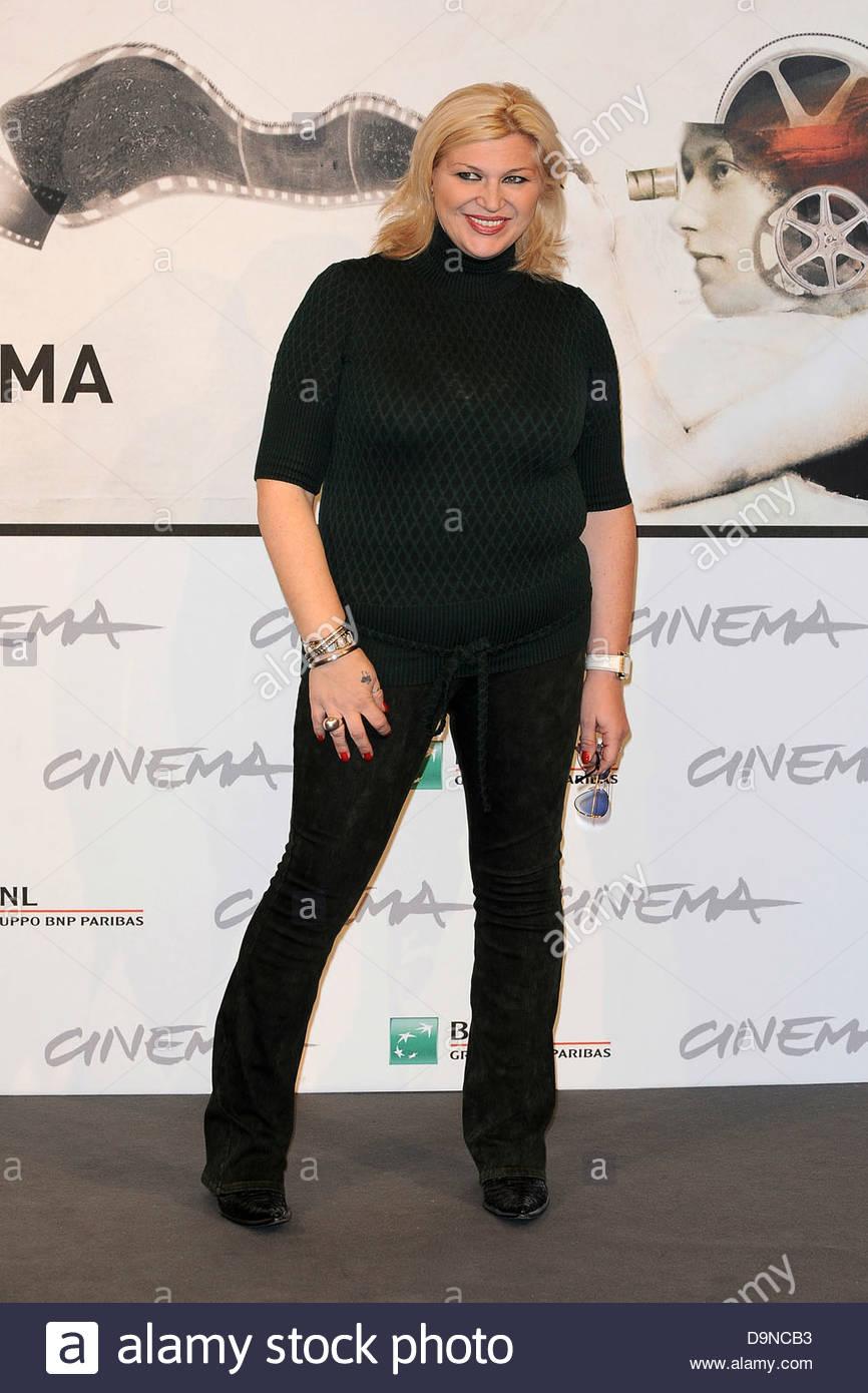 nadia rinaldi,international film festival of rome - Stock Image