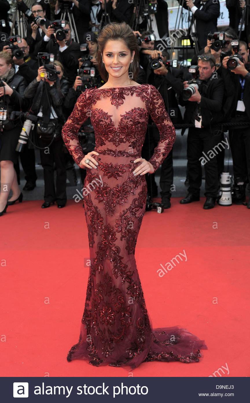 sheryl cole,66° Festival di Cannes - Stock Image