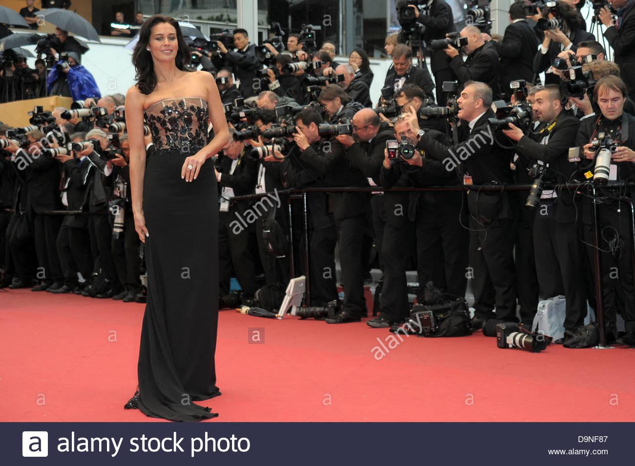 megan gale,66° Festival di Cannes - Stock Image