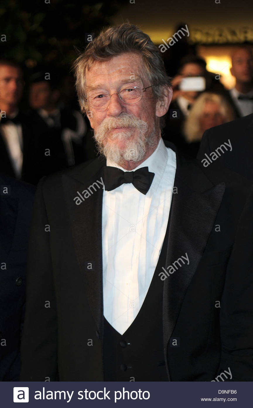 john hurt,66° Festival di Cannes - Stock Image