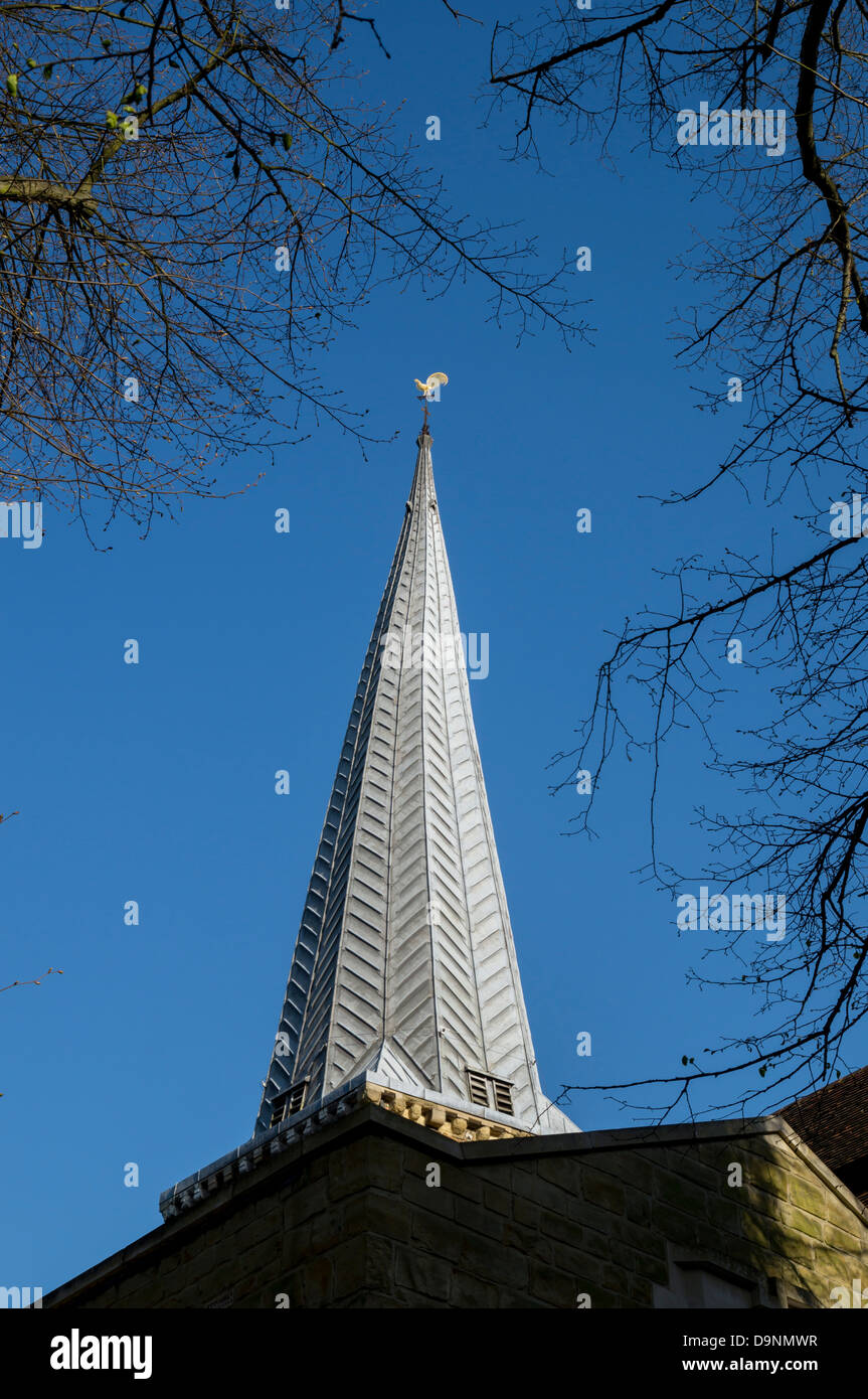 UK, England, Surrey, Godalming, church - Stock Image