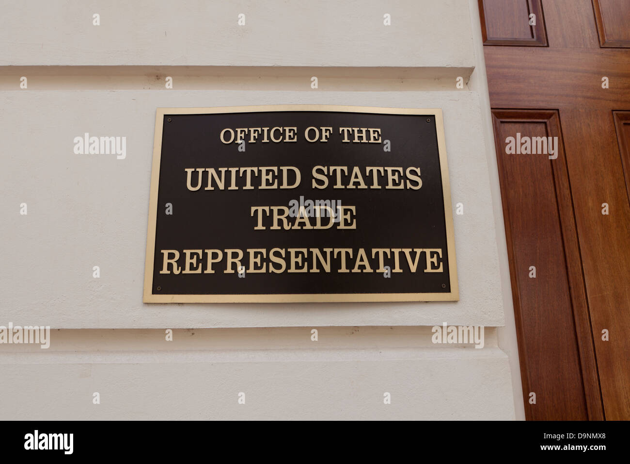 US Trade Representative office - Washington, DC USA - Stock Image