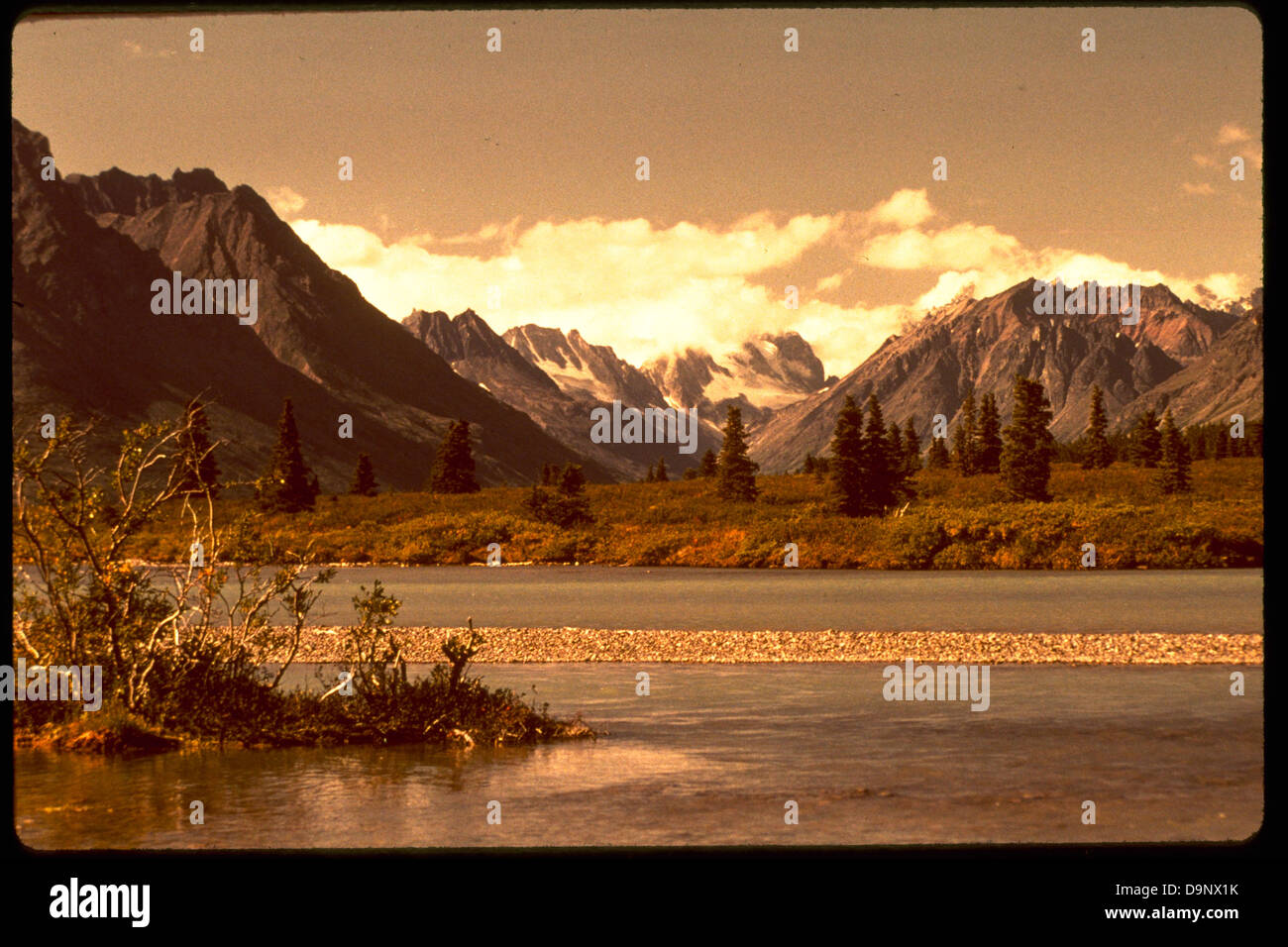 Lake Clark National Park and Preserve LACL8452. - Stock Image