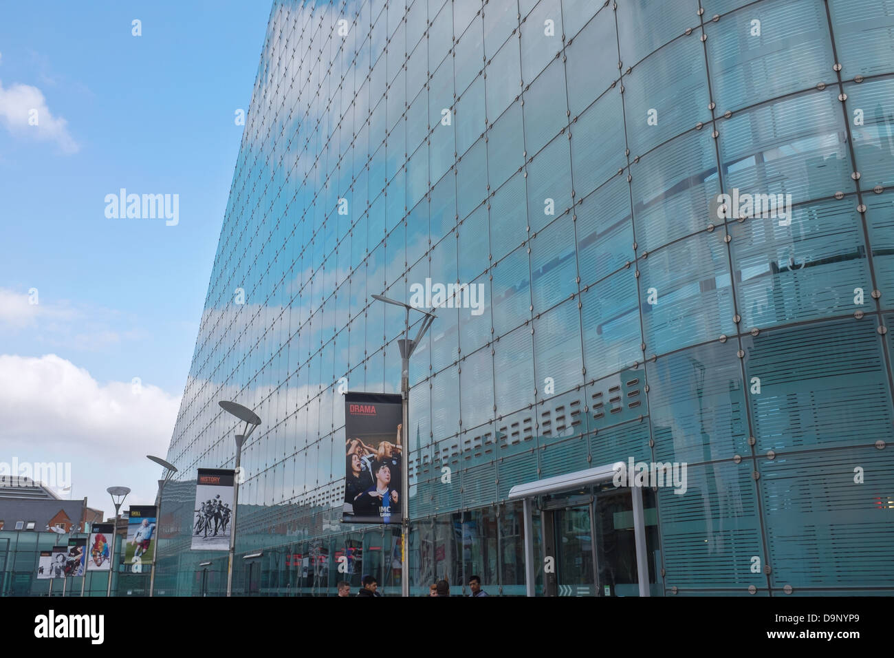 National Football Museum at Urbis in Manchester city centre, UK - Stock Image