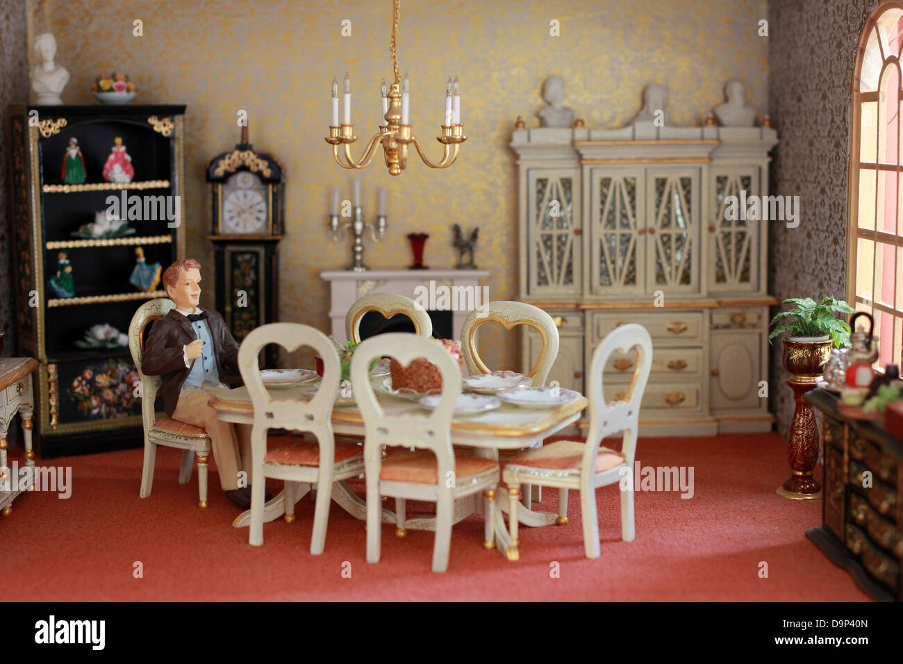 Dolls House Furniture High Resolution Stock Photography And Images Alamy