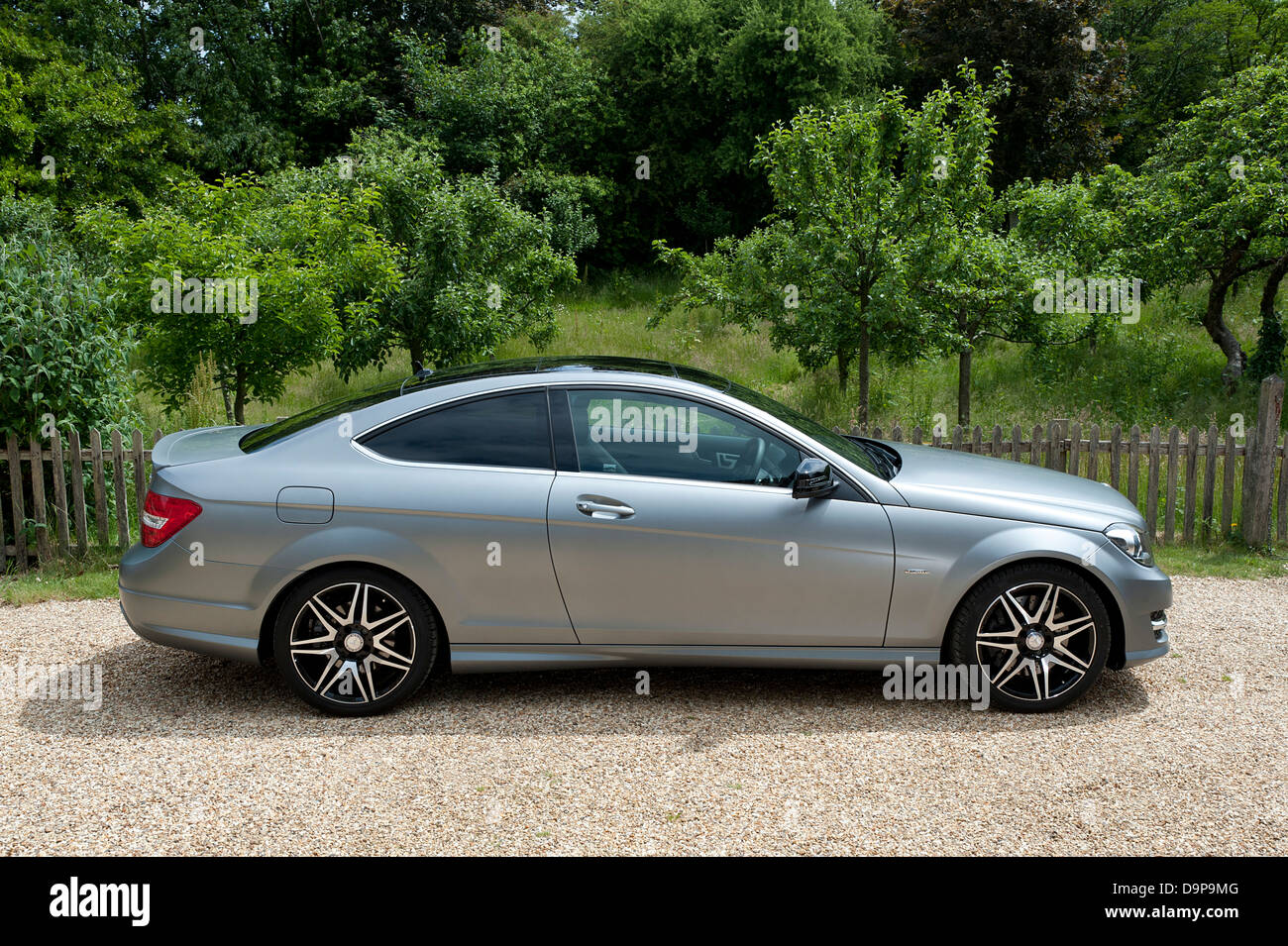 2013 Mercedes Benz C250 CDi Coupe AMG Sport Stock Photo ...