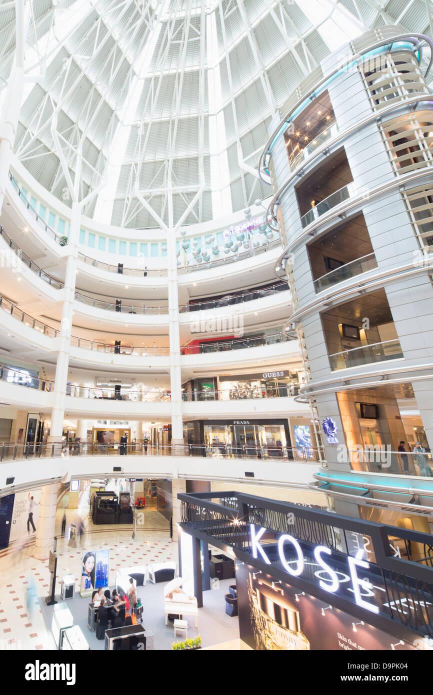 Suria KLCC, shopping mall, Kuala Lumpur, Malaysia - Stock Image