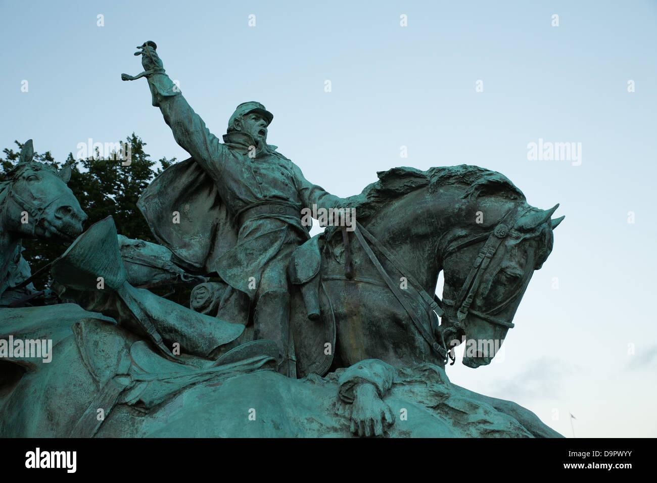 Ulysses S Grant Memorial, Washington, DC, USA - Stock Image