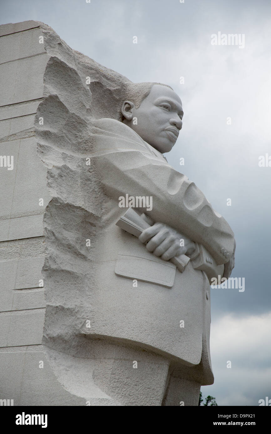 Martin Luther King, Jr National Memorial, Washington D.C., USA - Stock Image