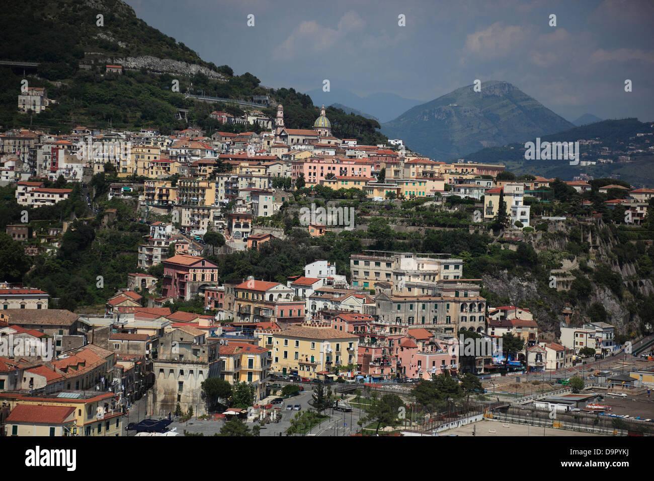 Vietri sul Mare, Campania, Italy, on the Amalfi Coast, Campania, Italy Stock Photo
