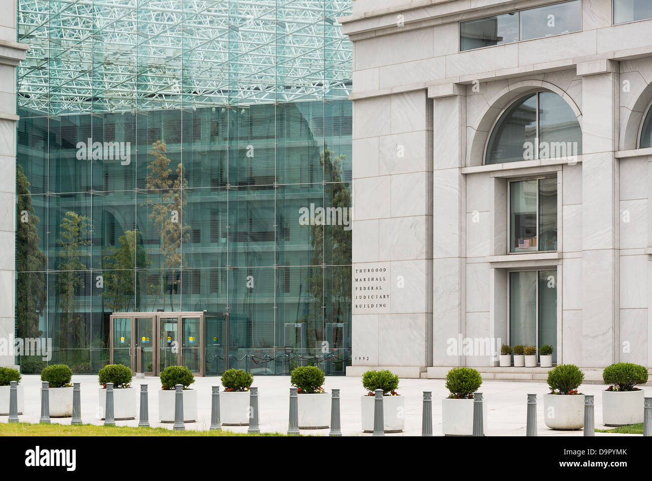 Thurgood Marshall Federal Judiciary Building, Washington DC, USA - Stock Image