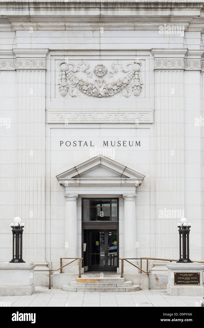 The National Postal Museum, located opposite Union Station in Washington, D.C., USA - Stock Image