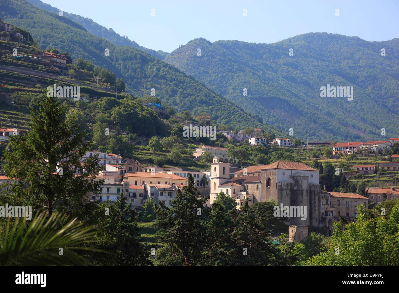 Ravello, Campania, Italy - Stock Image