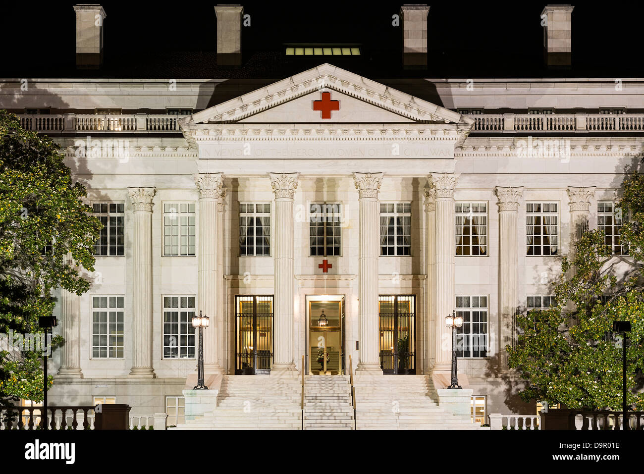 American Red Cross National Headquarters, Washington DC, USA - Stock Image