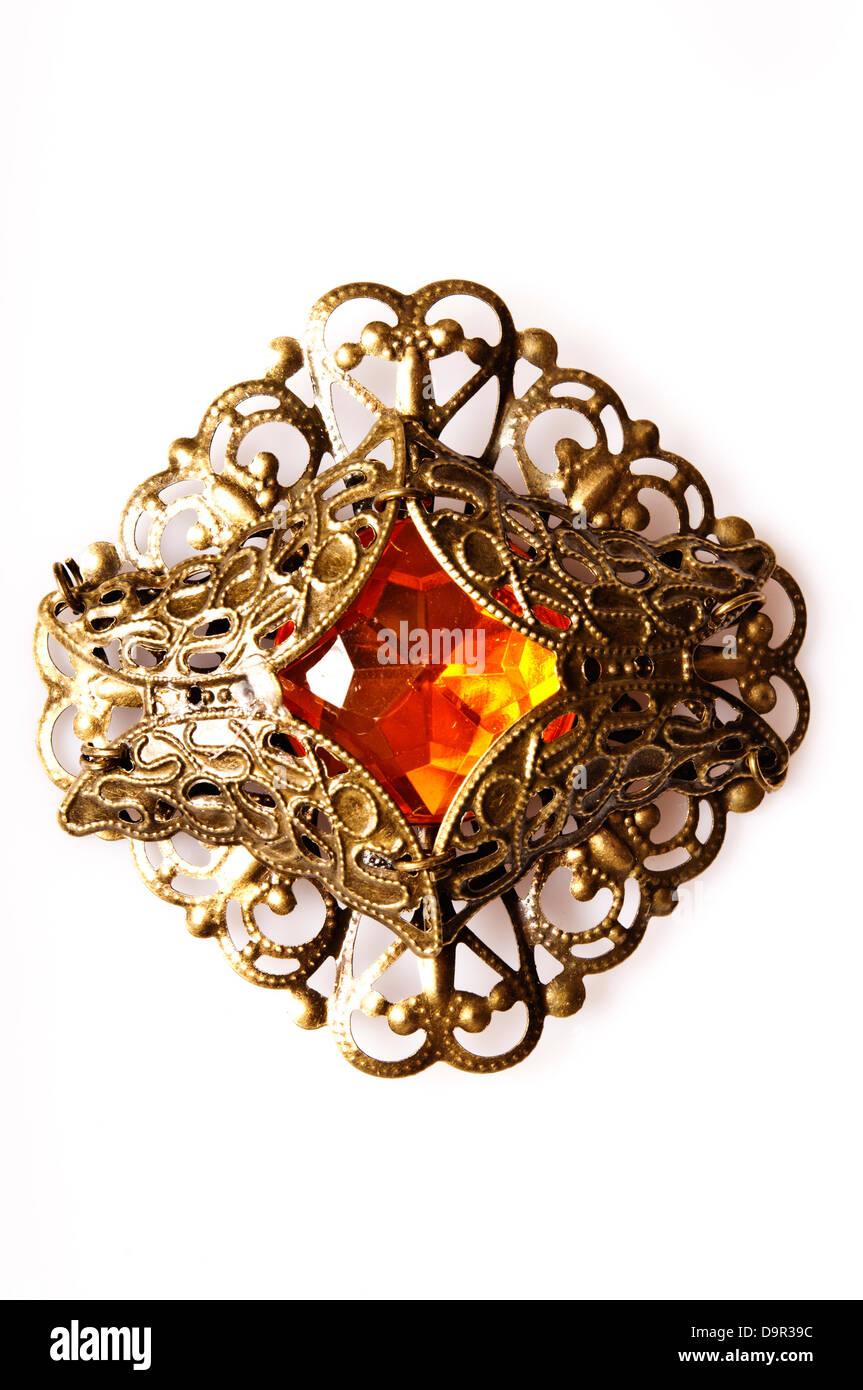 steampunk jewelry - Stock Image