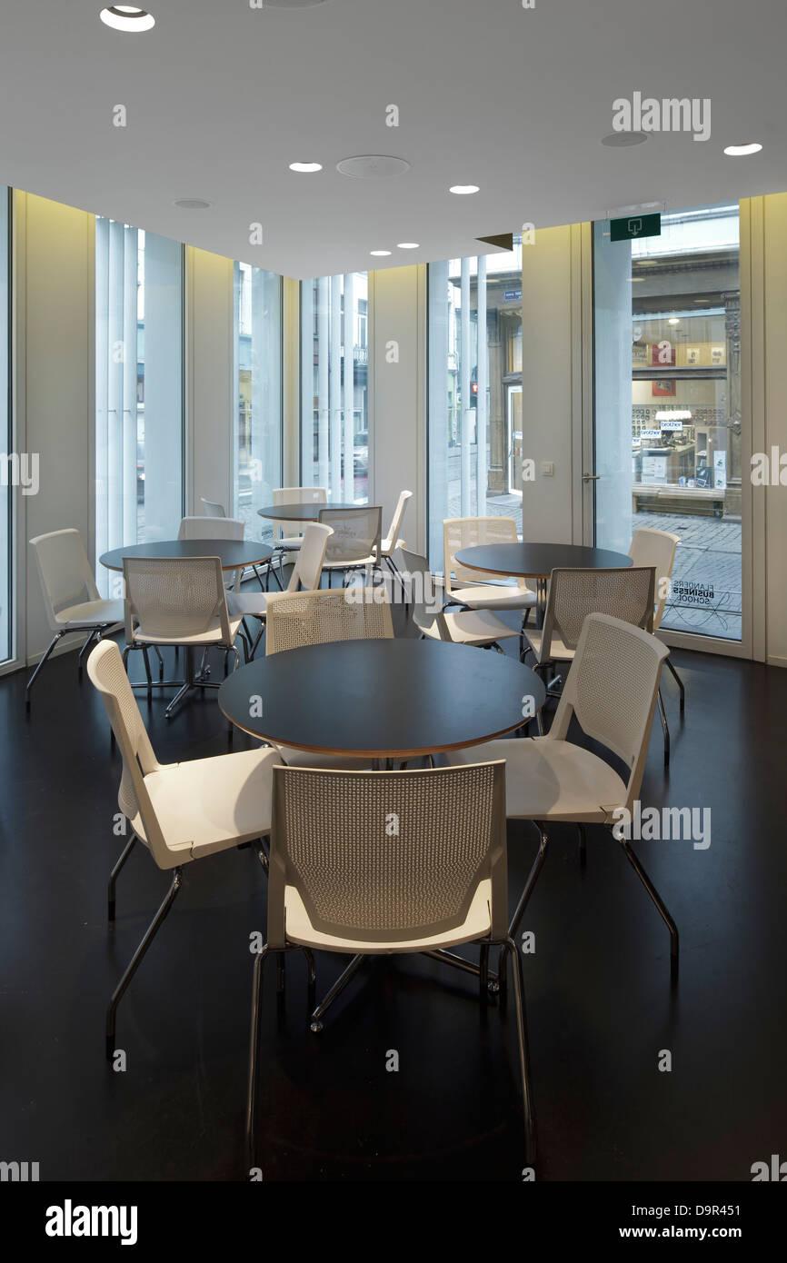 Flanders Business School Antwerp Belgium Architect Buro Ii Stock