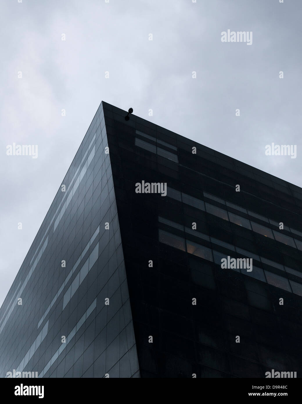 The Black Diamond - The Royal Danish Library, Copenhagen, Denmark. Architect: Schmidt Hammer & Lassen Ltd, 1999. Stock Photo