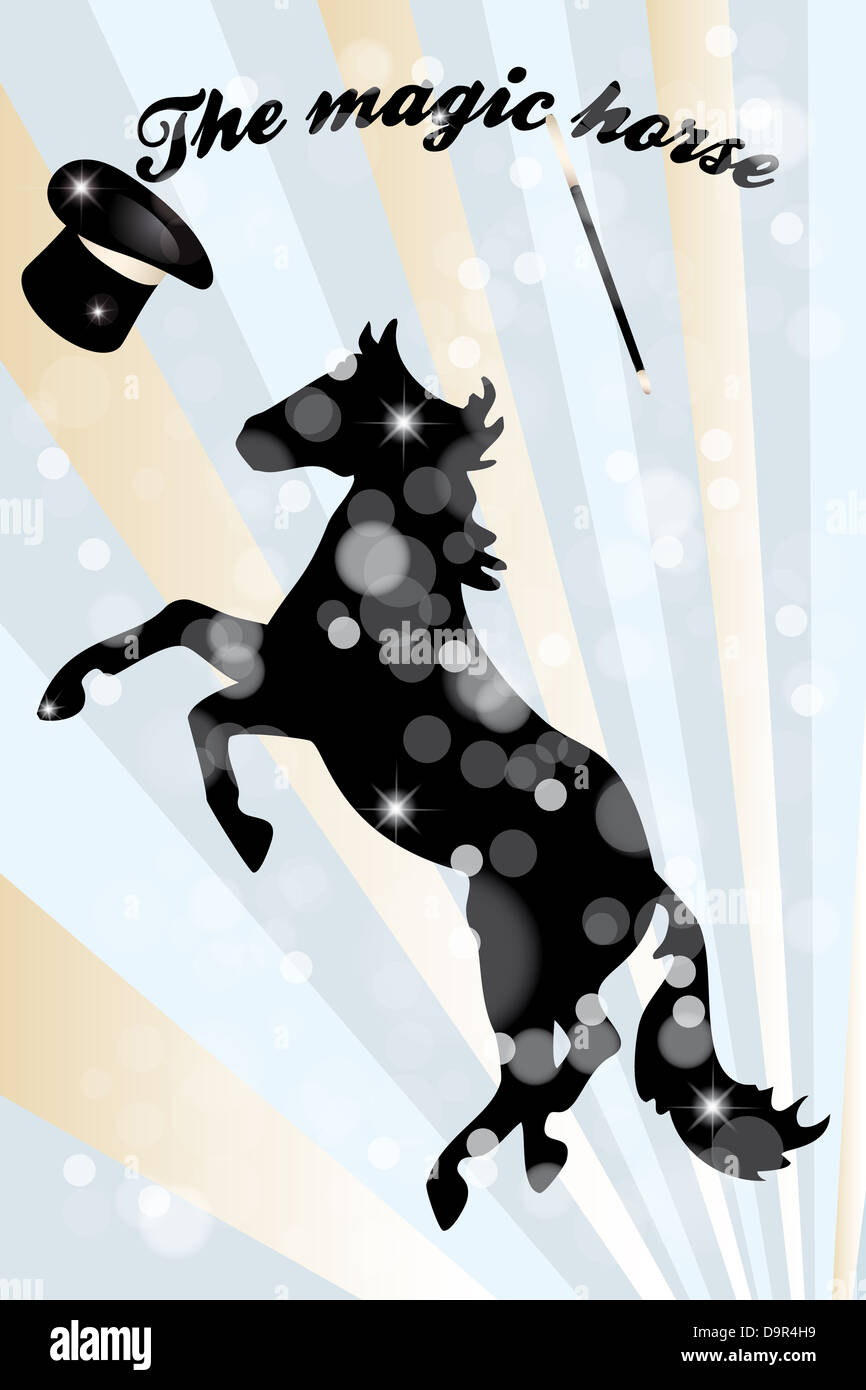 Magic Horse High Resolution Stock Photography And Images Alamy