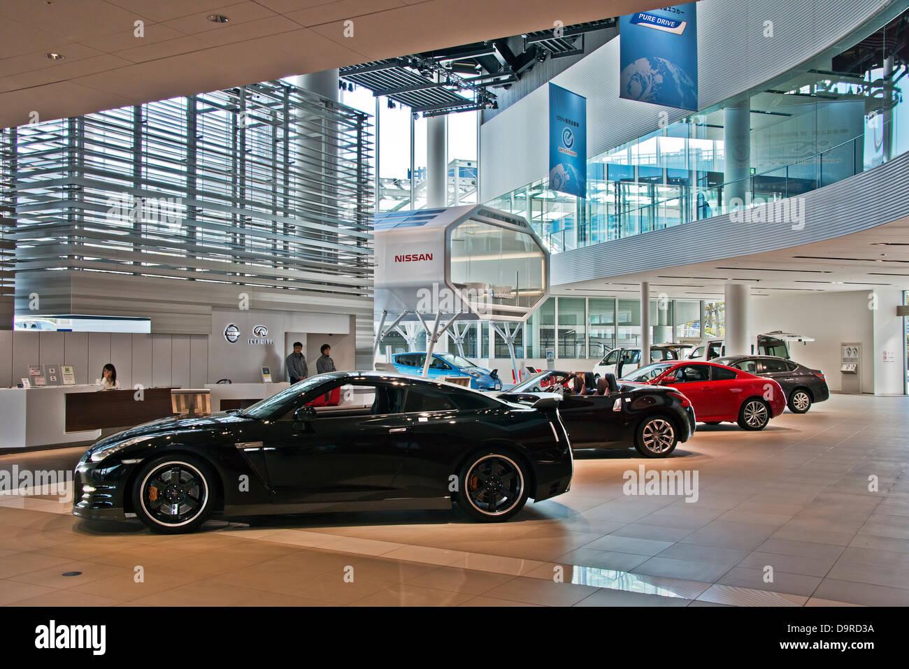 Nissan Gallery, Yokohama, Japan - Stock Image