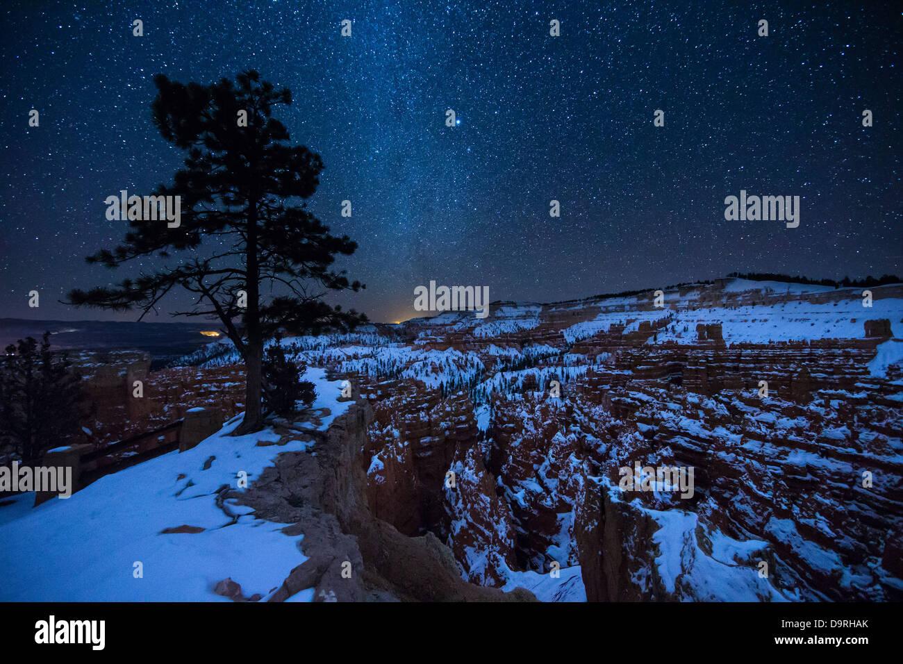 Amphitheatre, Bryce Canyon, Utah, USA - Stock Image