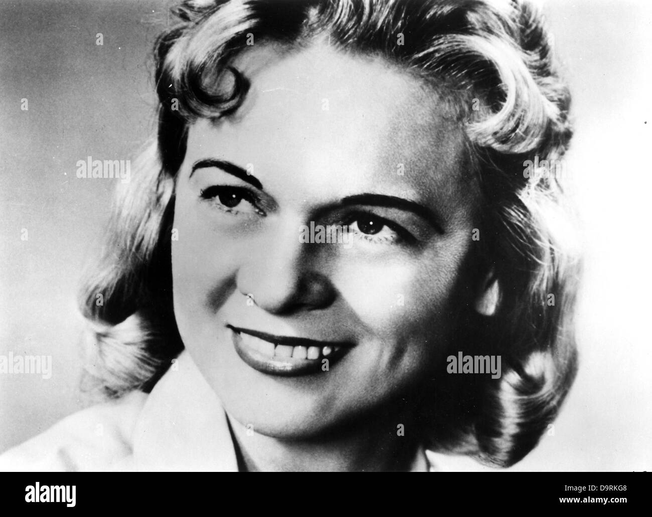 JEAN SHEPARD  US Honky-tonk singer songwriter about 1956 - Stock Image
