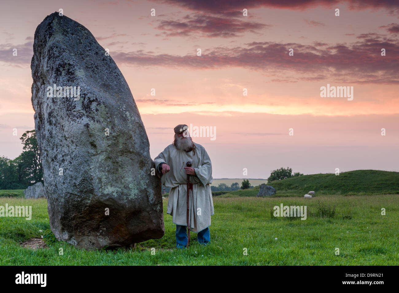 The 'Keeper of the Stones' - Stock Image