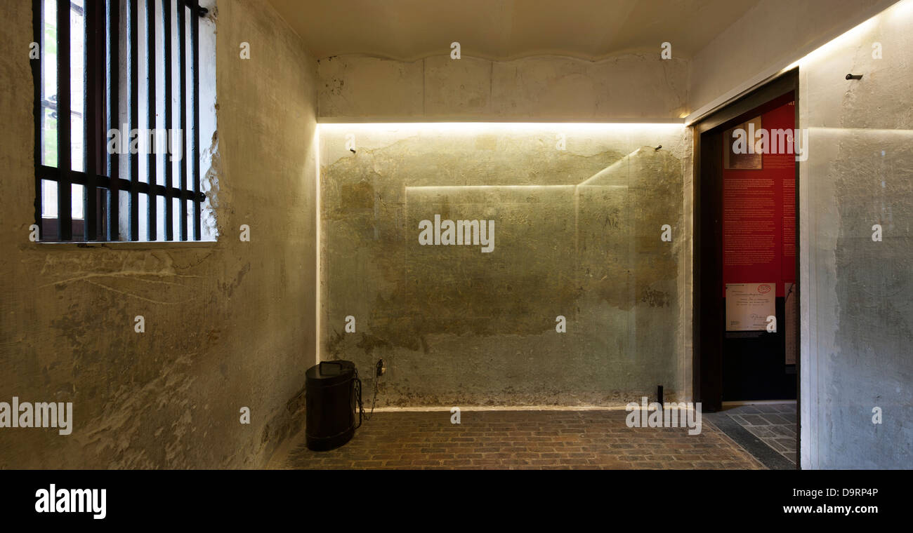 WWI Wall Inscriptions Of First World War One Condemned Soldiers In Death  Cell At The Poperinge