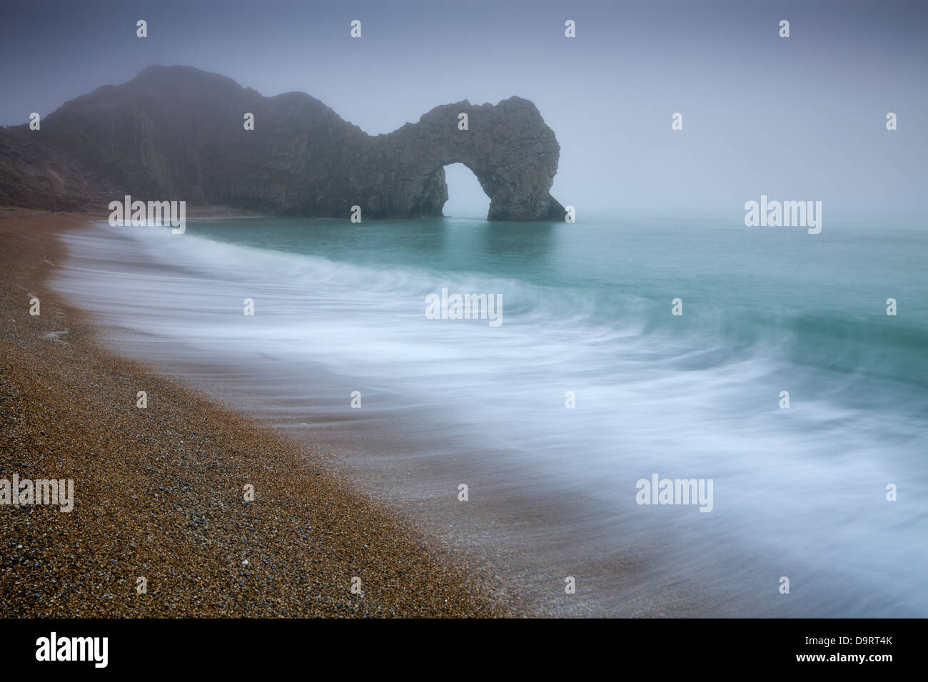 Durdle Door, Jurassic Coast, Dorset, England, UK - Stock Image
