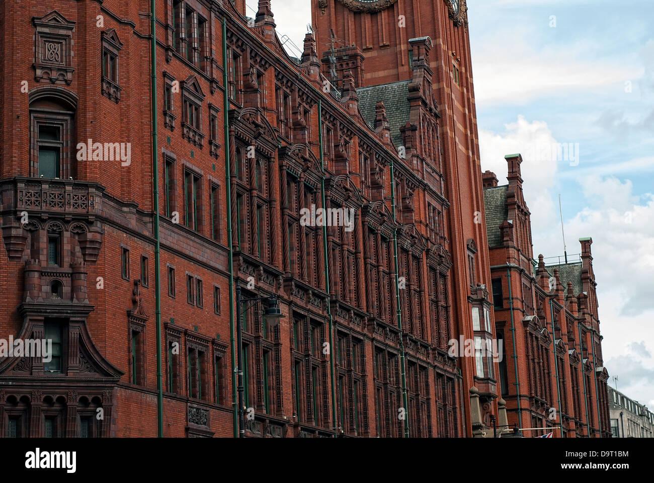 Historical Building in Manchester (Refuge Assurance Building) - Stock Image