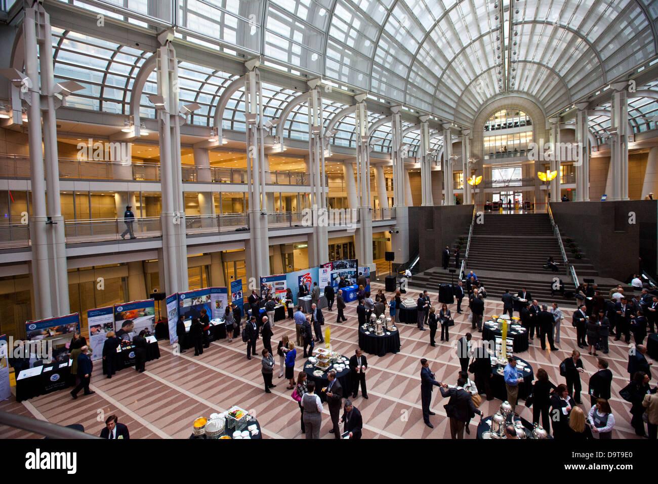 018 Trade Symposium 2011. Stock Photo