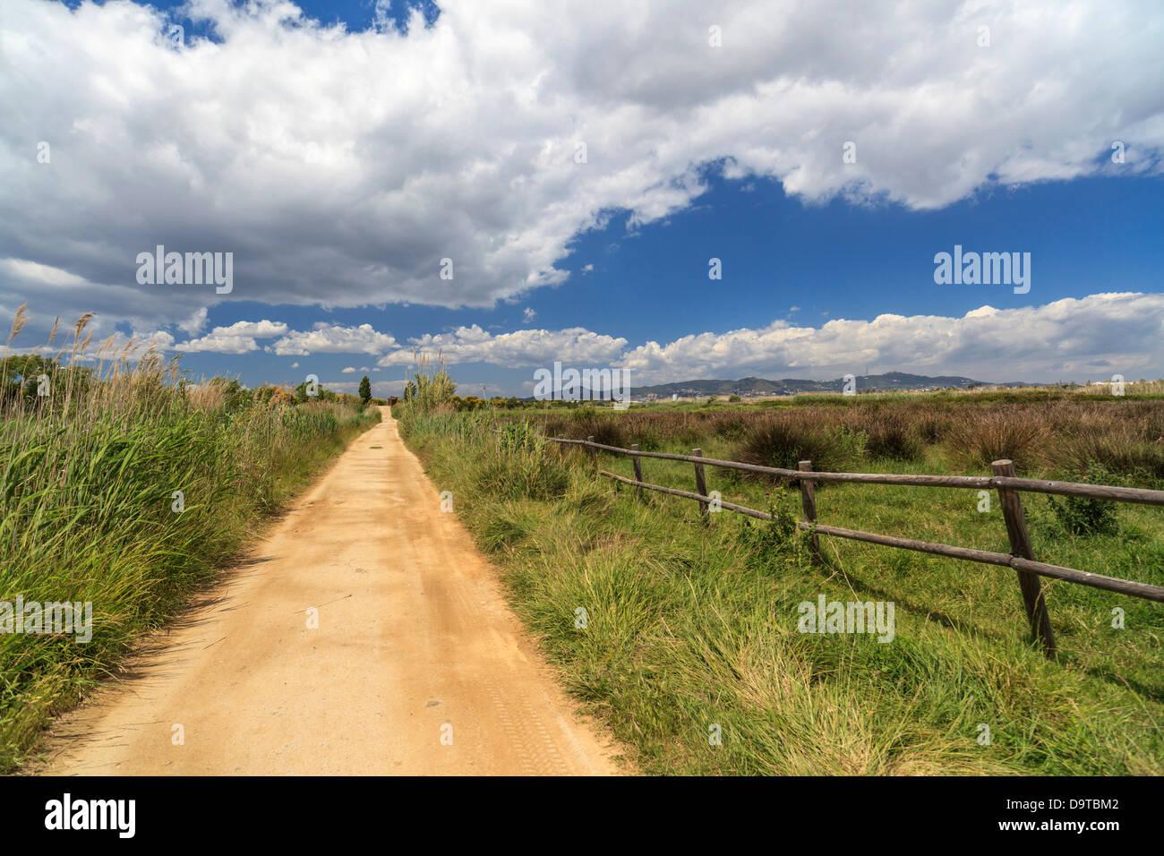 Prat de llobregat,catalonia,spain - Stock Image