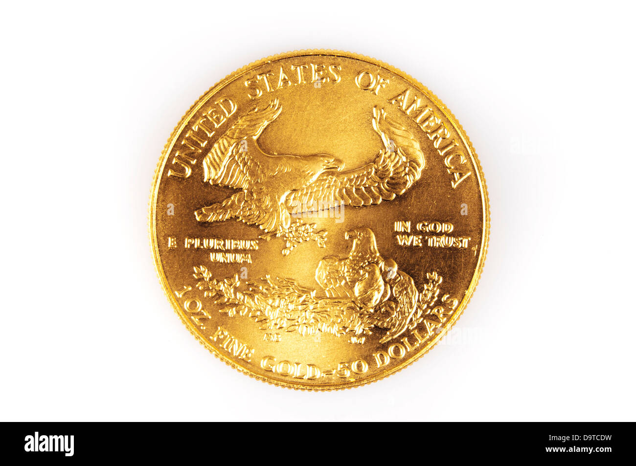 gold coin - Stock Image
