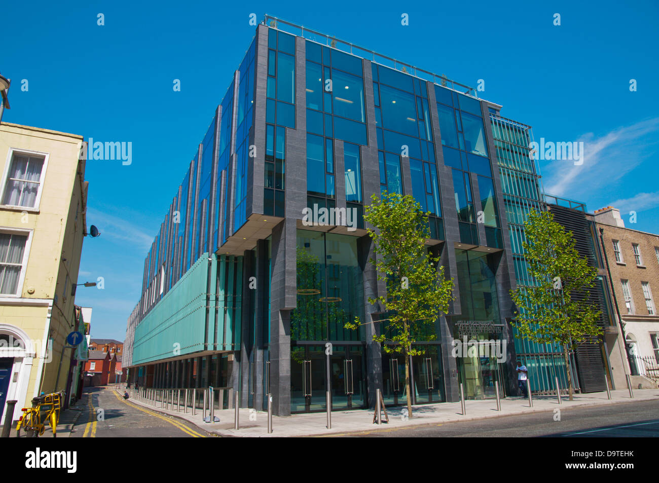 Chartered Accountants House along Pearse street Docklands area central Dublin Ireland Europe - Stock Image