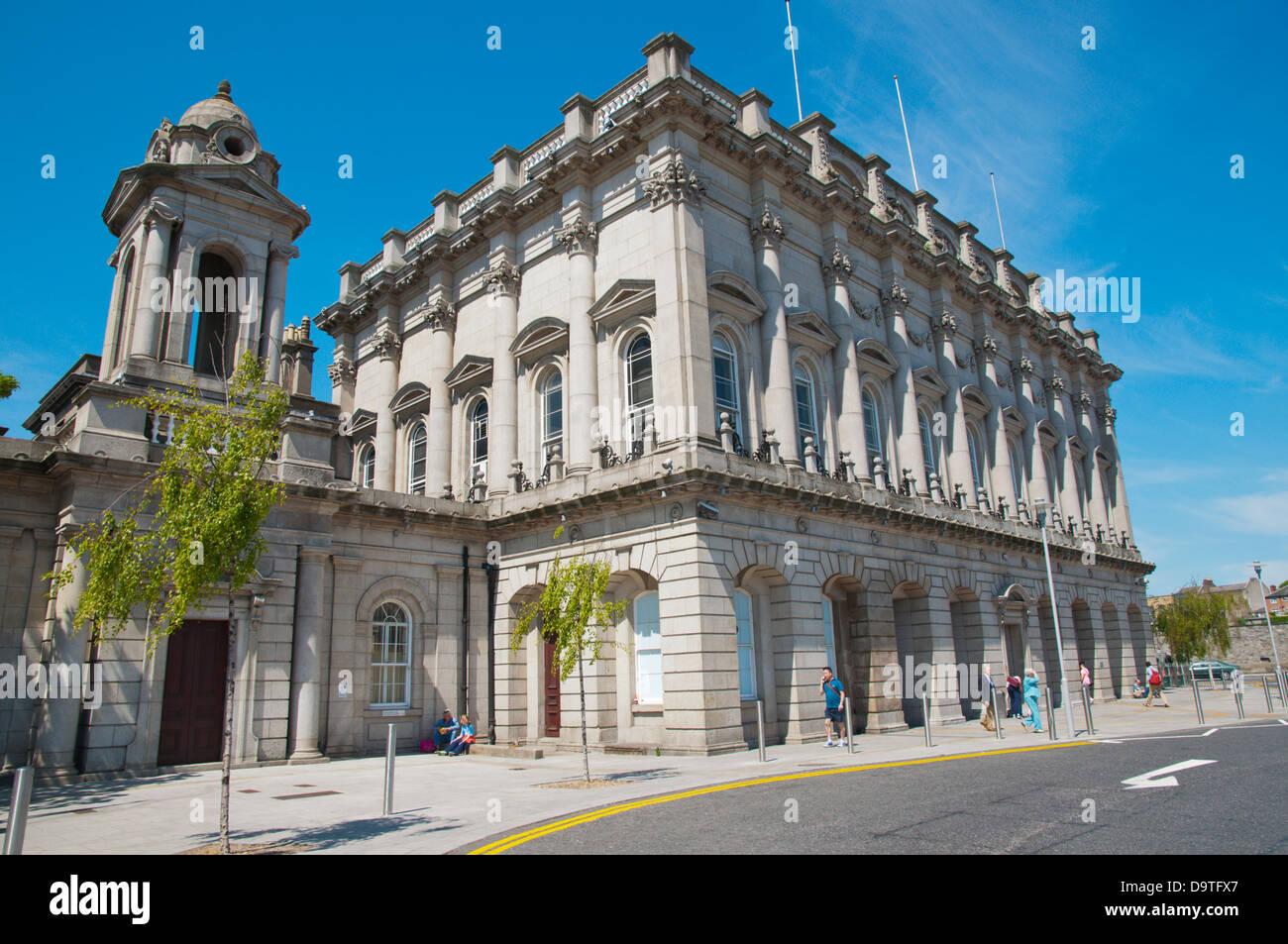 Heuston Station building (1844) Dublin Ireland Europe - Stock Image