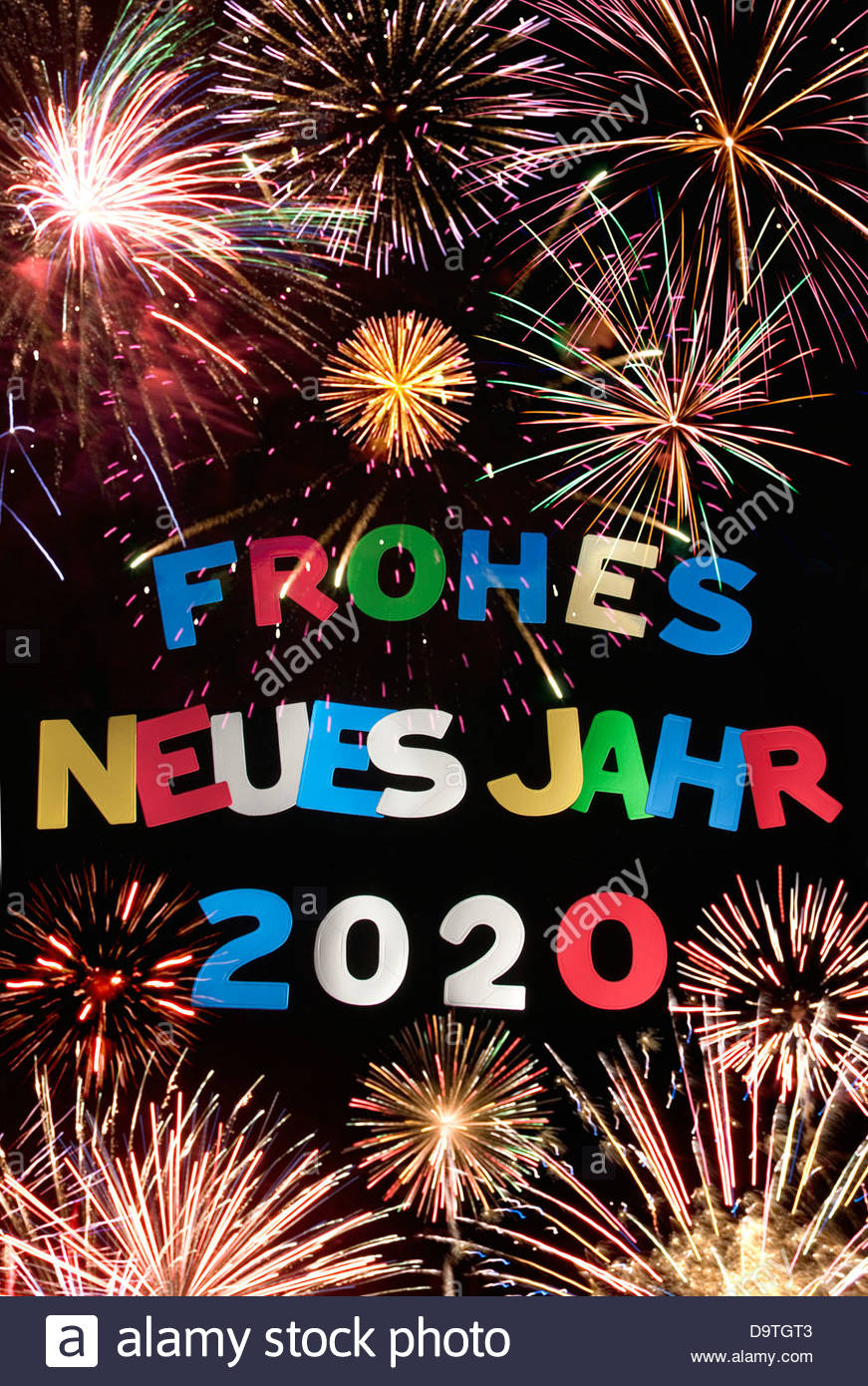 Silvester Neujahr 2020