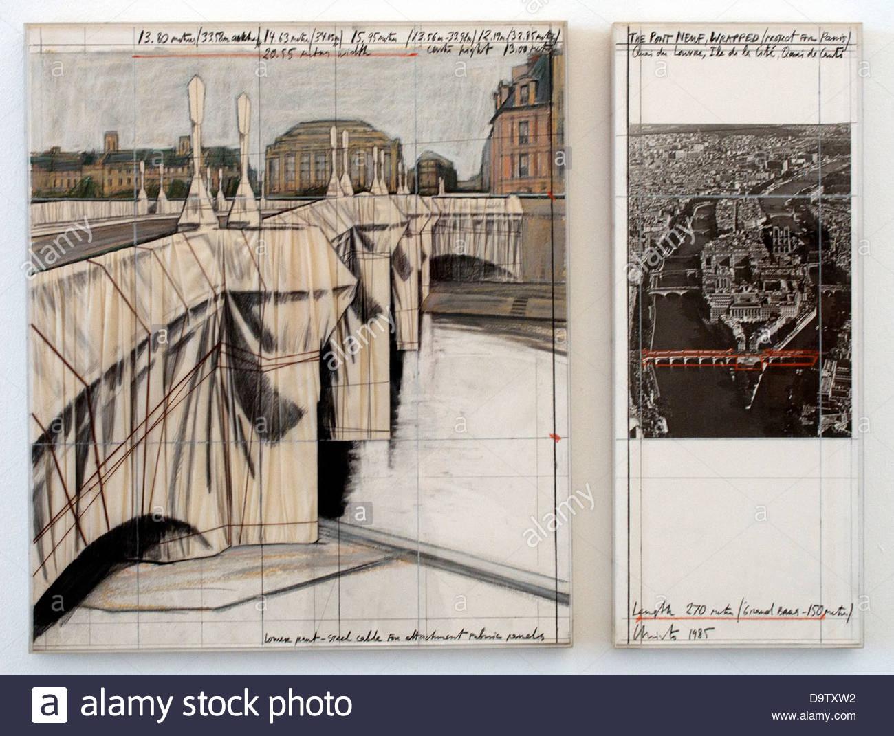 The Pont Neuf Paris 1985 Robert Rauschenberg 1925-2008 American United States of America - Stock Image